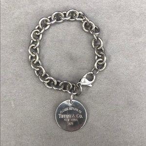 Jewelry - Tiffany & Co. Round Tag Bracelet